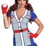 Baseball girl USA