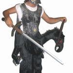 Gladiator on horse