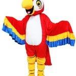 Parrot mascot