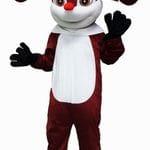 Reindeer mascot