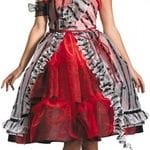 Alice red court dress