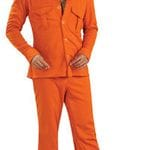Orange Safari suit