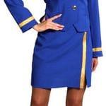 Air Hostess blue