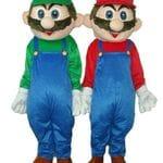 Mario and Luigi Mascots