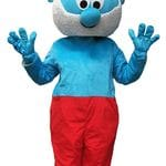 Papa Smurf Mascot