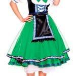 Oktoberfest Lady Green