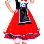 Oktoberfest Lady Red