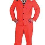 Orange Suit 70's   $60