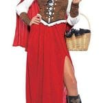 Red Riding Hood Woodland Girl