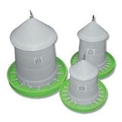 Poultry Feeder with Lid – Suspension 3kg