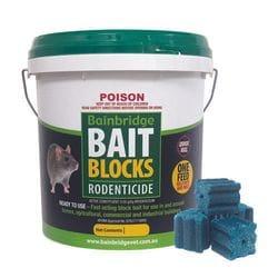Bainbridge Rodent Bait Blocks - 3kg