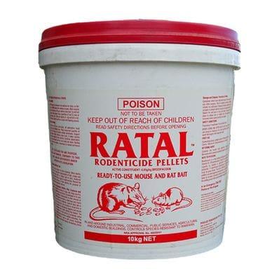 Ratal Rodenticide Pellets - 10kg