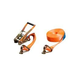 Fasty Ratchet Straps with Hook and Keeper