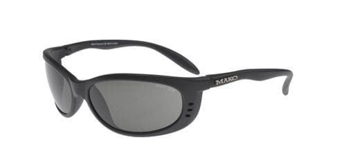 Mako Sleek XL - Black/Glass Grey