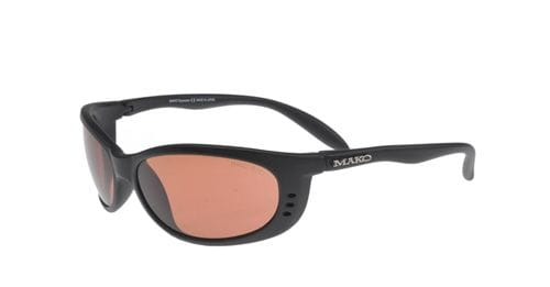 Mako Sleek XL - Black/Glass Photochromic Copper