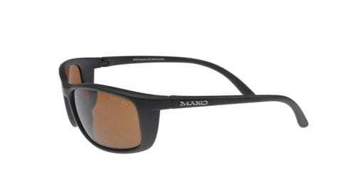 Mako Blade - Matte Black/Glass Brown