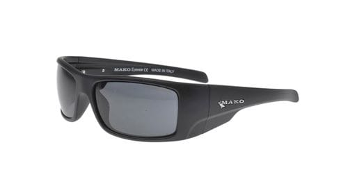 Mako Invincible - Matte Black/Glass Grey