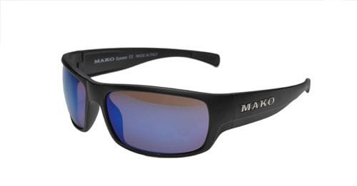 Mako Escape - Matte Black/Glass Grey Blue Mirror