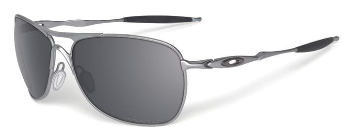 Oakley Crosshair - Lead/Black Iridium Polarized