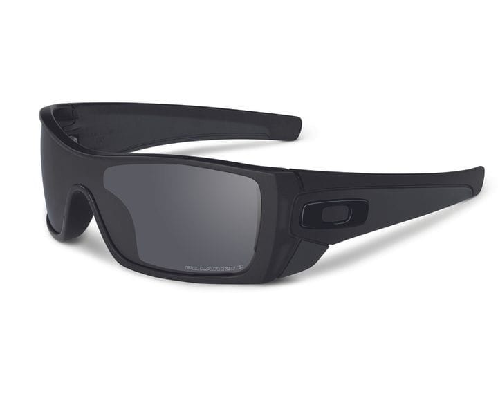 Oakley Batwolf - Matte Grey Smoke/Black Iridium Polar