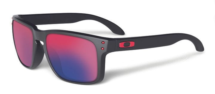 Oakley Holbrook - Matte Black/Red Iridium