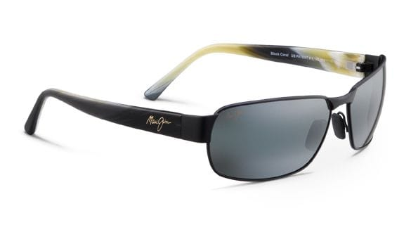 Maui Jim Black Coral - Matte Black/Grey