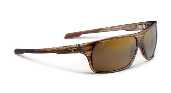 Maui Jim Island Time - Striped Rootbeer/HCL Bronze