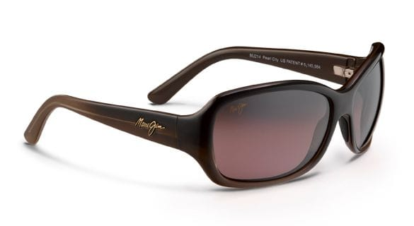 Maui Jim Pearl City - Chocolate Fade/Maui Rose