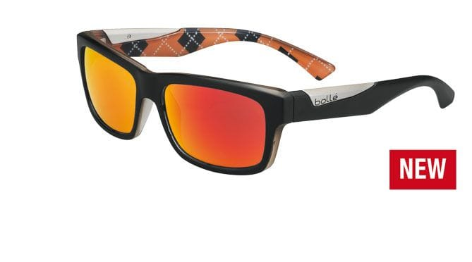 Bolle Jude - Matte Black Argyle Orange /Pol TNS Fire