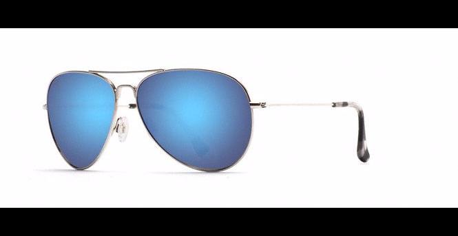 Maui Jim Mavericks - Silver/Blue Hawaii
