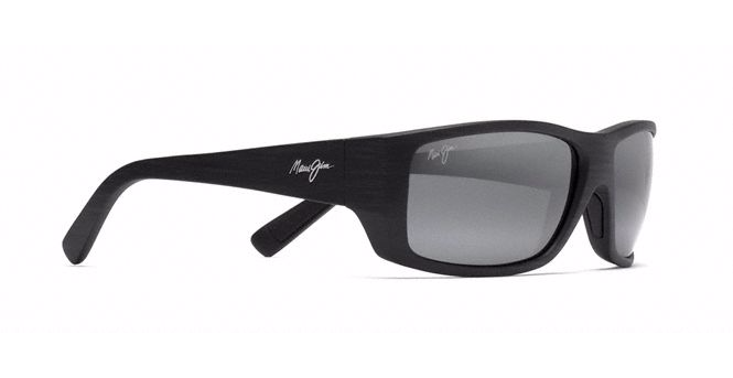 Maui Jim Wassup - Matte Black Wood Grain/Neutral Grey
