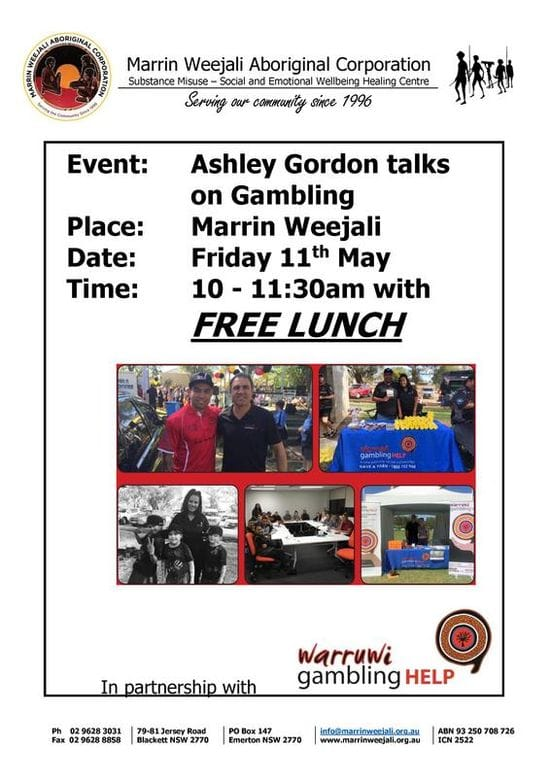 ASHLEY GORDON talks on GAMBLING !!