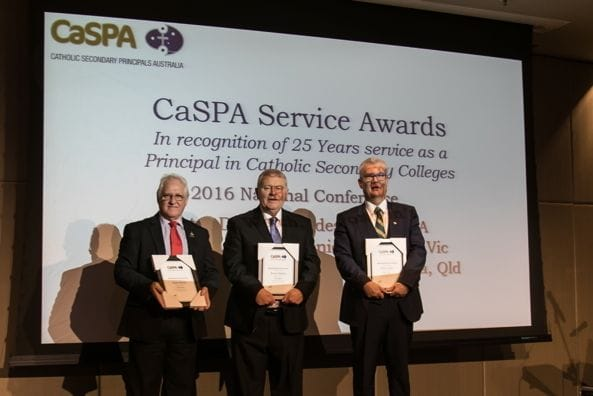CaSPA 2016 - Meritorious Service Awards