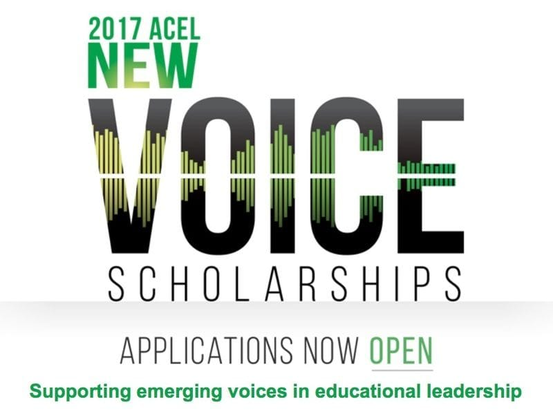 ACEL Scholarships for Emerging School Leaders