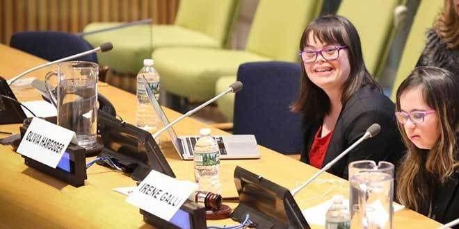 Student from Queensland CaSPA School Addresses UN