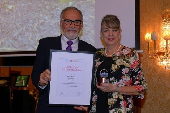 CaSPA Principal recognised with National Award