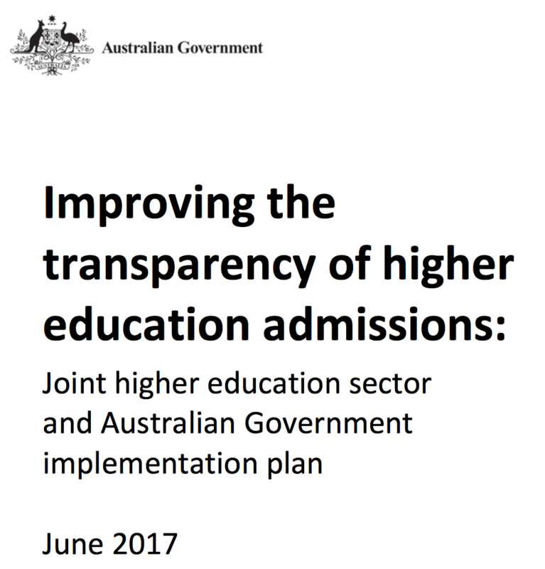 Promise of Clearer ATAR Process from 2019