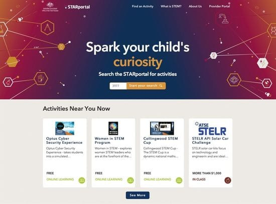 Aust Government provides online STEM resources