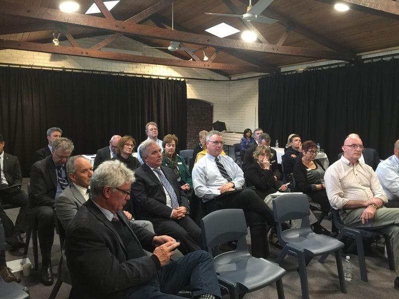 CaSPA Board Meet with WA Principals