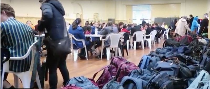 Students from Melbourne Catholic Colleges give up their Friday evenings to help refugees