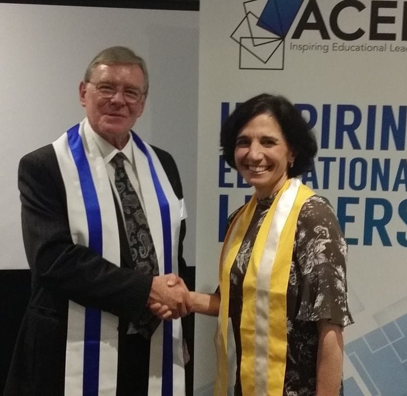 CaSPA Director Awarded ACEL Honours