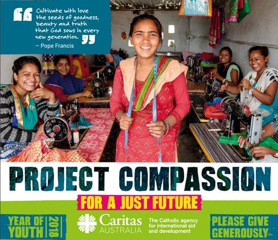 Project Compassion begins in 7 days - your school is encouraged to support it