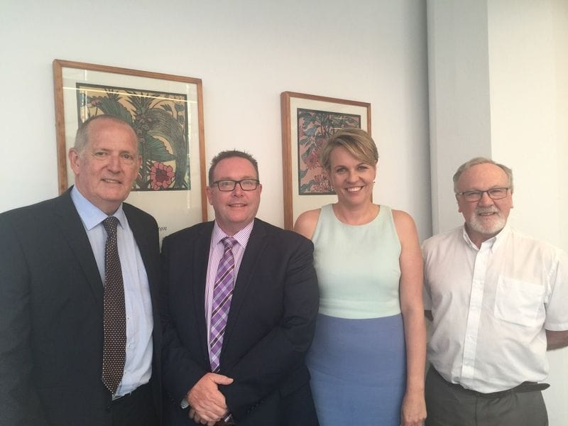 CaSPA Executive meet with Tanya Plibersek