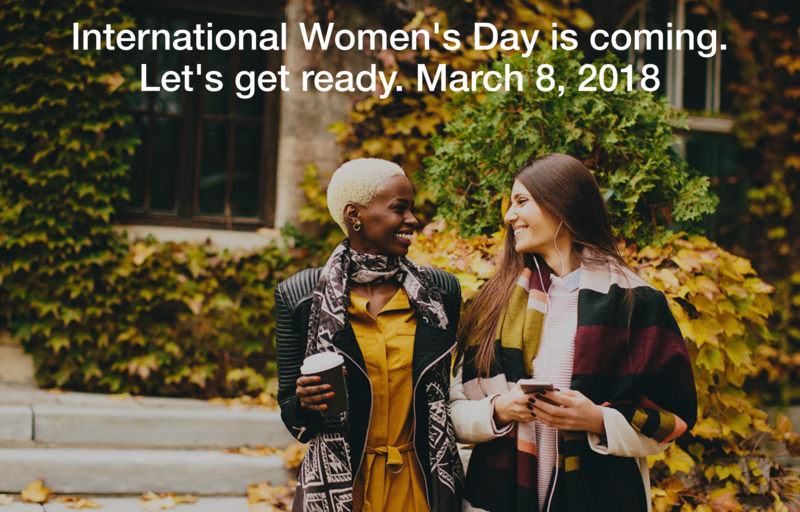 Help your school to celebrate International Women's Day