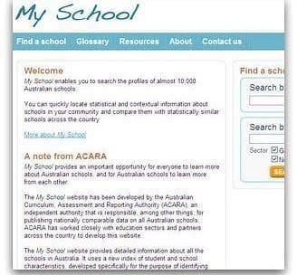 My School Website Updated