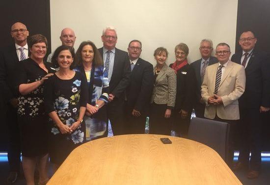 ACT Principals join CaSPA Directors at March Board Meeting