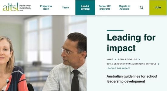New Leadership Resources Released by AITSL