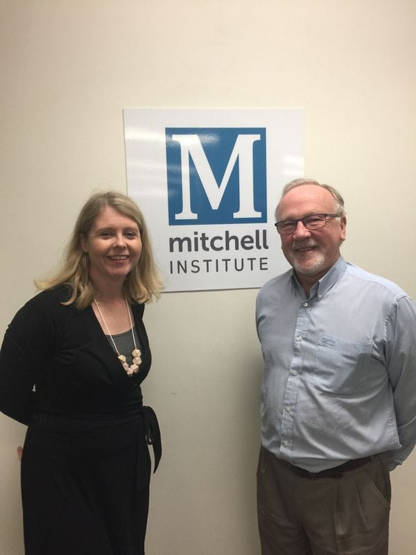 CaSPA Meets with Mitchell Institute to explore possible shared projects