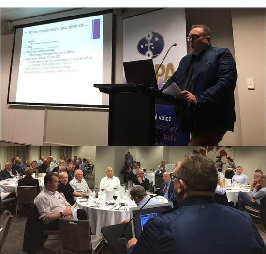 CaSPA Board meets with large group of Victorian Principals