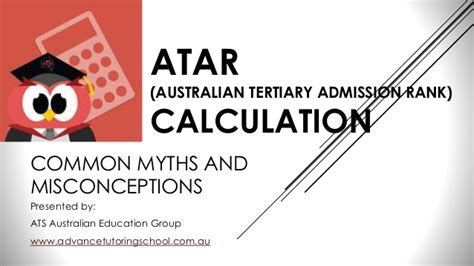 The elusive ATAR score is anything but a sure thing...
